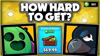 How Hard Is It To Get A Legendary Brawler? + Huge Brawl Opening + Gameplay! - Brawl Stars