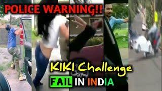 "PLZ DON""T DO KIKI Challenge Fail IN INDIA