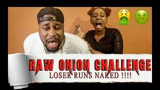 EXTREME RAW ONION CHALLENGE !!! LOSER RUNS NAKED !! FUNNY VIDEO !!