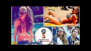 Paul Pogba's girlfriend Maria Salaues strips off for racy pics before France vs Argentina
