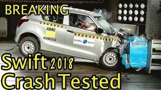 2018 Maruti Swift scores 2 star Crash Test | Hindi | MotorOctane