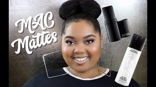 MAC Cosmetics Fix + MATTE & Pore Refiner Stick Review + Wear Test