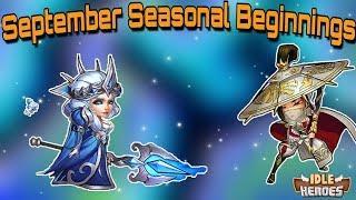 Idle Heroes (S) - September Seasonal Beginnings and Banned Hero Modifier Fail