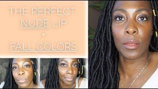 The Perfect Nude Lip For Dark Skin & Brown Skin | NO Liner Needed!