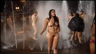 Nude Party Before and After Bike Ride Portland | Nude Shower !!
