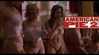 American Pie 2 2001 720p 2 sexy Naked Girls Kiss & Tell Boys You Kiss We Kiss in Funny Sexy Clip NO