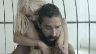 Nearly Naked Shia LaBeouf Stars In Sia Video with 'Dance Moms' Star
