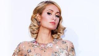 Paris Hilton Wears 'Naked' Dress At amfAR Gala In Cannes — See Sheer Gown