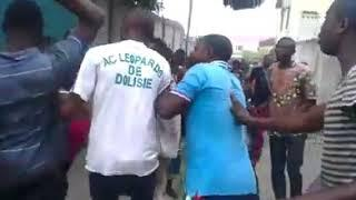 Woman stoles mobile phone and was beaten to naked