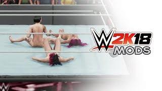 WWE 2K18 Naked Diva Triple Threat WWE 2K18 Mods