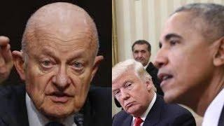 Obama Might go to Jail After James Clapper's Confession on Live Television