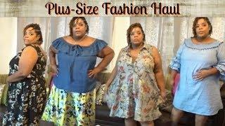 Summer Clearance Fashion Haul! | Plus Size Try-on | ❤LifeWithLisa343????