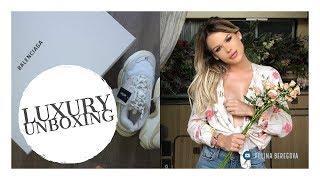 Balenciaga Triple S Unboxing + Joining Revolve for #revolvearoundtheworld | DailyPolina
