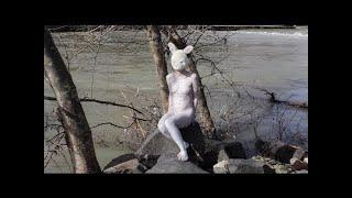 Bad Girls |  Woman in Bunny Mask Gets Nude Body Painting for Avant-garde Film by Franco Losvizzero