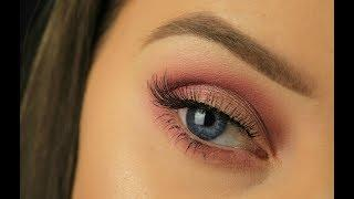 Soft Pink Smokey Eye | Urban Decay Backtalk Palette