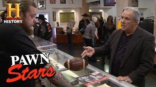 Pawn Stars: Football from First Hall of Fame Game (Season 12) | History