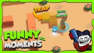 BEST TRAP SHOWDOWN WITH SHELLY ! - Brawl Stars FUNNY MOMENTS, Trolls, Glitches & Fail Montage #1