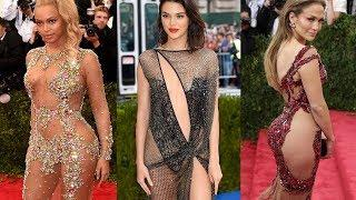 Top 30 Naked Dresses of Celebrities  ????????