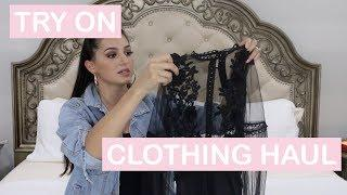 SUMMER/FALL TRY ON CLOTHING HAUL | REVOLVE | NAKED WARDROBE | NASTY GAL | ASOS