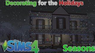 Sims 4 Seasons Holiday Decorations How-To