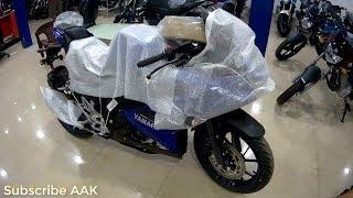 Yamaha R15 V3 India - First LOOK Covered With BuBBle Paper  !!! We are unwrapping..Watch This