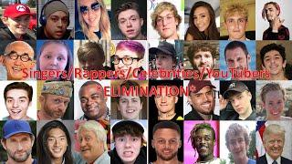 Singers/Rappers/Celebrities/YouTubers Elimination Game *ELIMINATION* (S1 - R10)