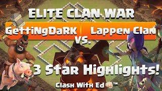 GettingDark vs Kampfzelle - See Lappen 3 Stars - Clash of Clans