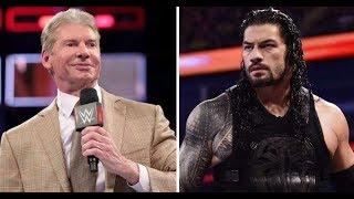 Fans are criticising WWE for Vince McMahon's latest plan to get Roman Reigns over