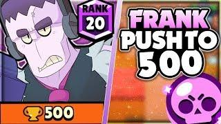 Frank Push To 500 Trophies In Showdown! + Teaming In Showdown Discussion! - Brawl Stars