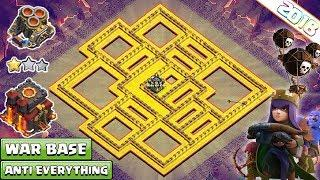 NEW Town Hall (TH10) War Base 2018 Anti Queen Walk | Anti 3 Star, Anti Everything - Clash of Clans