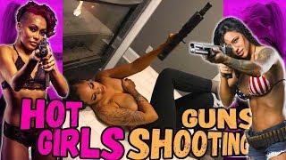 Hot Girls Shooting Guns - Compilation #01