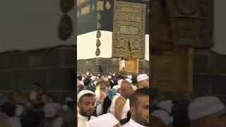 Haj 2018 Makkah : Man gets naked and tries to open the kabaah door