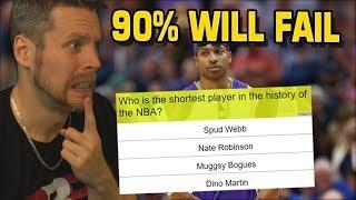 Take the DIEHARD NBA Quiz. 90% will FAIL!