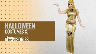 Chr Women Halloween Costumes & Accessories [2018]: Adult Snake Skin Cleopatra Costume (Size: Small
