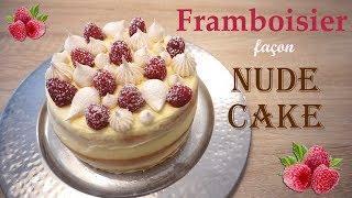 Je pâtisse un Framboisier façon Nude Cake