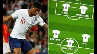 England player ratings vs Spain Man Utd ace shines – but Liverpool stars fail to deliver