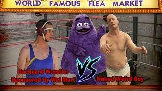 You know that naked dream you've had before. Well this is the pro wrestling version  WFFM