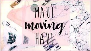 MAUI MOVE HAUL : Travel Essentials, Swimsuits & More