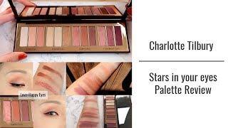 圣诞限量!Charlotte Tilbury stars in your eyes 眼影盘 四款眼妆+试色测评!