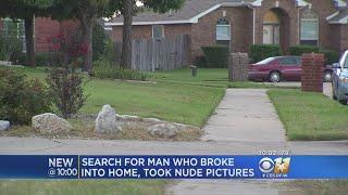 Search For Burglar Who Took Nude Pics