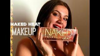 NAKED HEAT | night's summer makeup | redHead