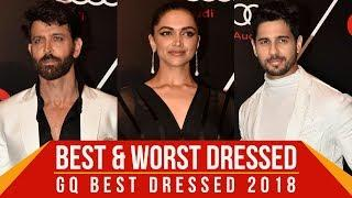 Deepika Padukone, Hrithik Roshan, Sidharth Malhotra: Best and Worst Dressed at GQ Best Dressed 2018