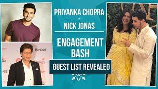 Priyanka Chopra- Nick Jonas Engagement Bash: GUEST LIST Revealed