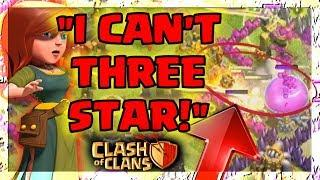 """I CAN'T THREE STAR!"" Clash Of Clans EPIC FAIL ATTACK RAIDS! FUNNY MOMENTS!"