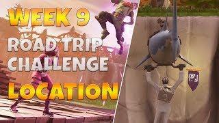 """Road Trip Challenges"" Secret Banner Location Week 9 Season 5 Fortnite Battle Royale"