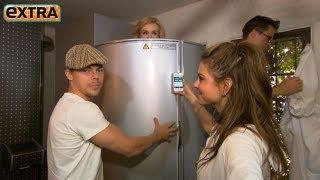 Video! 'Dancing' Stars Nearly Naked in Cryochamber