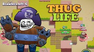 TROLLING NOOBS WITH DARRYL | Brawl Stars Funny Moments