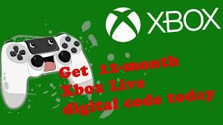Get 12-month Xbox Live code - best wired xbox one controller
