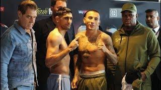 *LIVE* AMIR KHAN VS SAMUEL VARGAS WEIGH IN | KHAN STRIPS NAKED TO MAKE WEIGHT