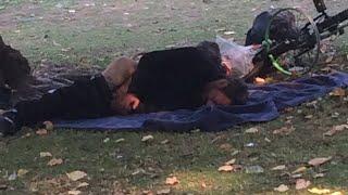 Crazed Naked Homeless Overrunning California Parks!!????